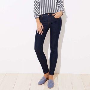NEW Ann Taylor Loft Modern Skinny Dark Rinse Jeans